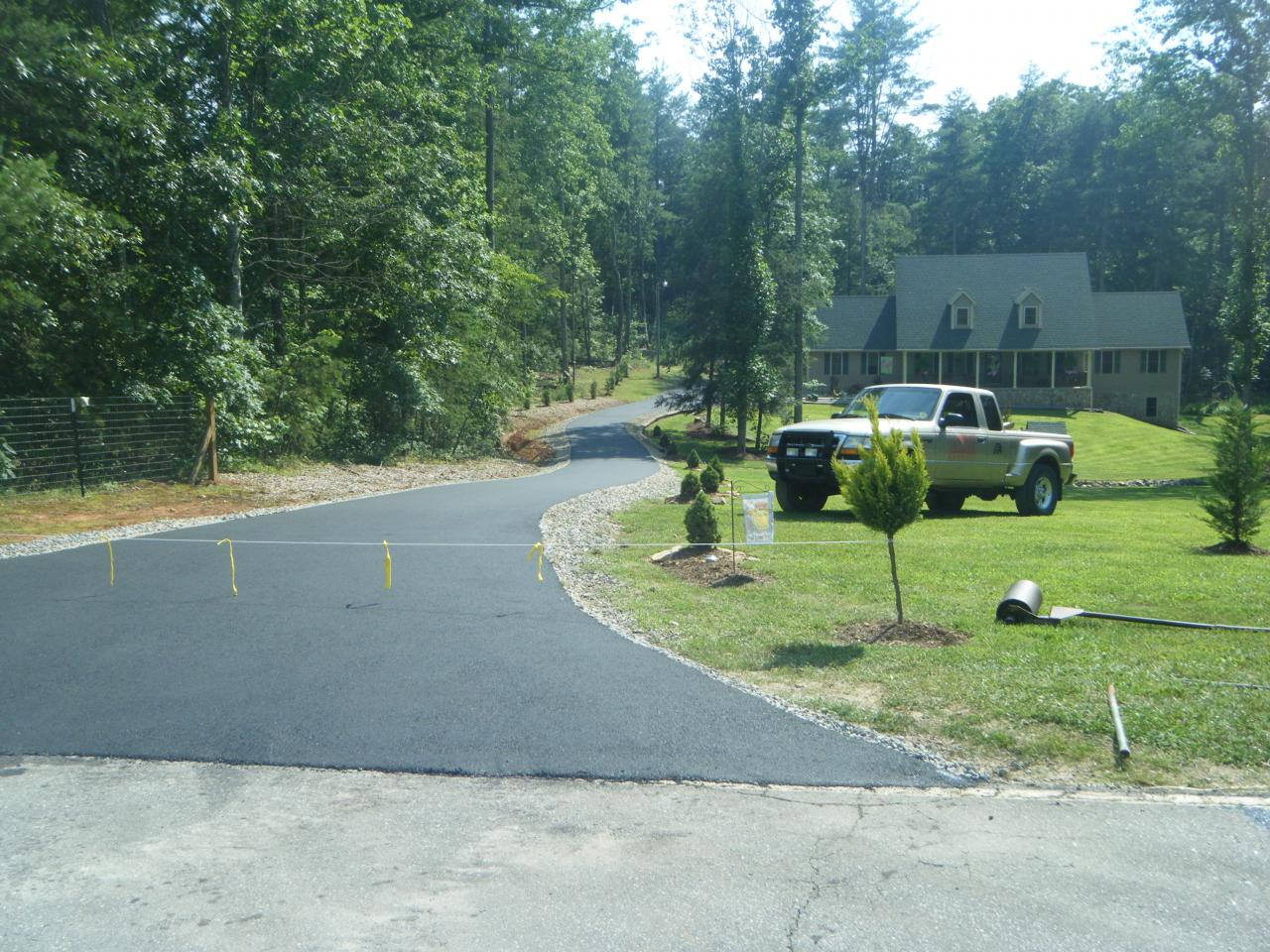 paving job done 6/09 marion nc